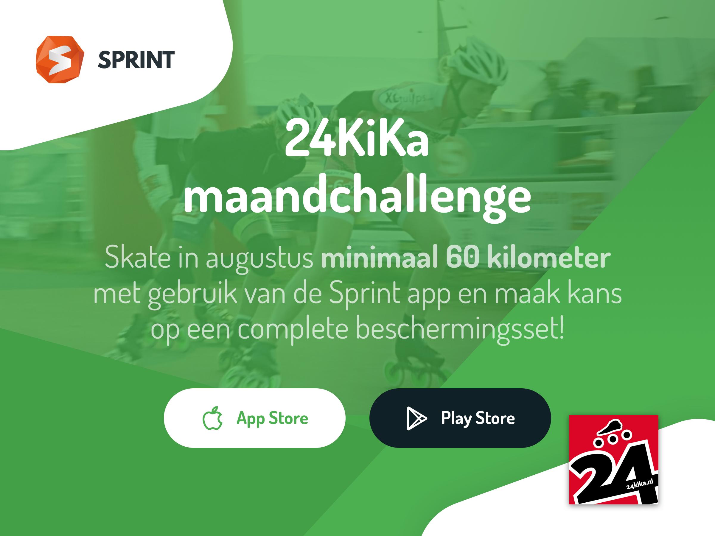Bereid je voor op 24KiKa met de Sprint app en win gave prijzen!